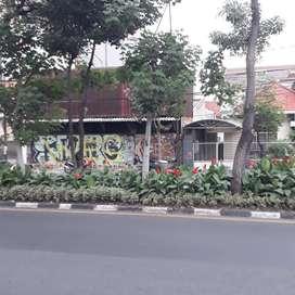 Bangunan Hitung Tanah di Jl. Kusuma Bangsa, Komersial Area Surabaya.