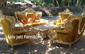 Set sofa tamu bellagio ukir jepara