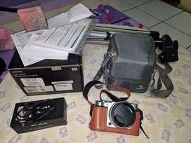 Fujifilm X-A5 Kit 15-45mm Like New mulus murah Banyak bonus