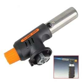 Flame Gun Portable Gas Torch - 807 - Black/Yellow
