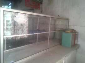 Dijual Etalase Ukuran 2 x 1 Meter dan 1 x 1 Meter