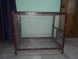 Iron cage for pets