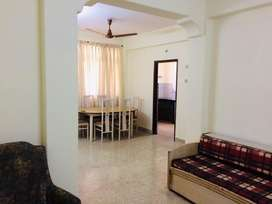 Available 2bhk furnished flat for rent in porvorim.