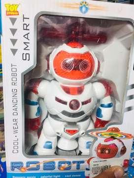 Mainan anak robot berputar dan baling baling