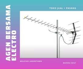 Ahli pemasangan sinyal antena tv murah jagakarsa