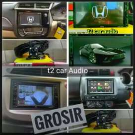 Khusus buat jazz brio mobilio dvd 2din android link led 7inc+camera hd