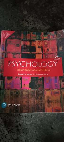 5th edition Psychology indian subcontinent edition