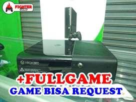 XBOX EXTRA SLIM Hardisk 250GB +FULLGAMES Bisa Request Game