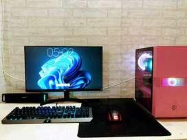 PC GAMING FULLSET | Ryzen 5 1600 | RX 570 | SSD
