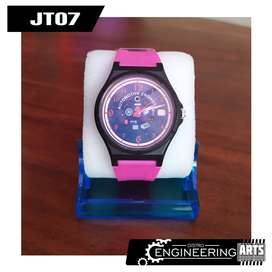 Jam Tangan Mirete Motif Automotive Engineering & Wadah Jam [JT07]