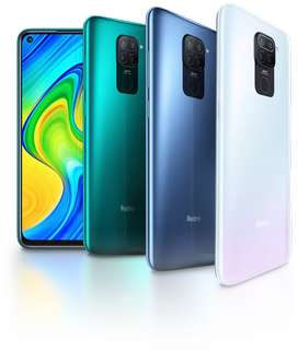 Redmi Note 9 4GB/128GB all colour sill pack available
