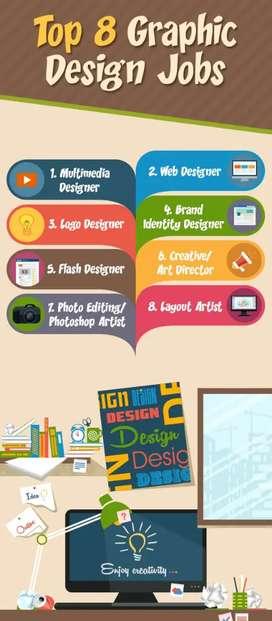Graphic designer, logo designer