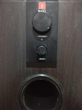 iBall Full Wood Speakers