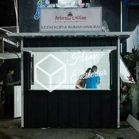 CONTAINER CAFE - CONTAINER JUALAN - CONTAINER ANGKRINGAN