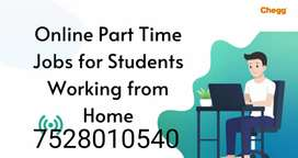 People interested to work from home can work part-time.