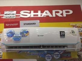 AC SHARP 1PK Free pasang kredit acc 3 menit bayar 199saja