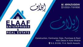 Behtreen house for rent north karachi 11A