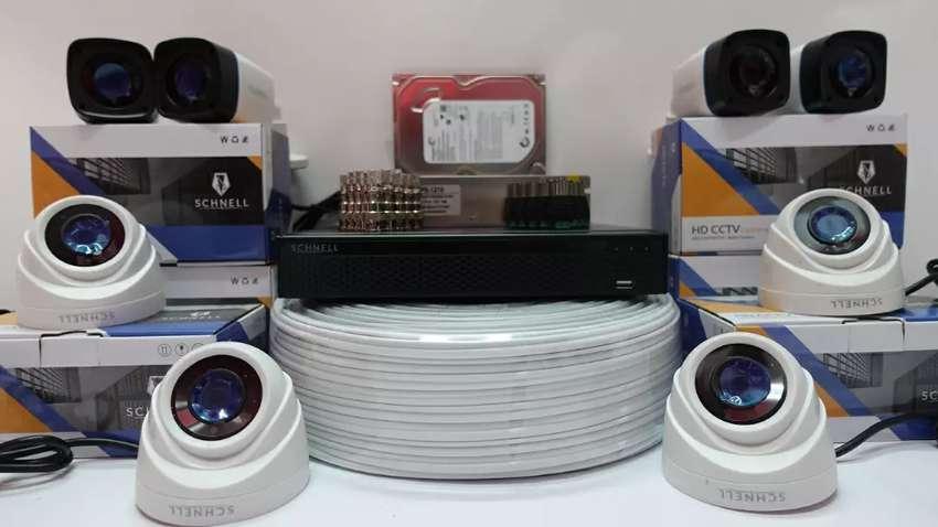 Paket kamera CCTV 4 chanel 0