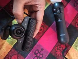 Move controller and eye motion camera