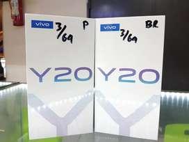VIVO Y20 3/64GB new garansi resmi