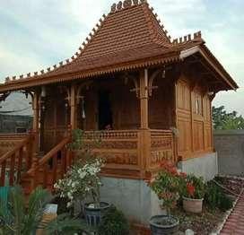 Rumah clasik kayu jati