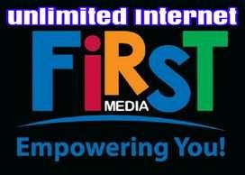 FIRST MEDIA PROMO UNLIMITED INTERNET BONUS TV CABLE