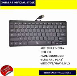 Keyboard disgigear portable