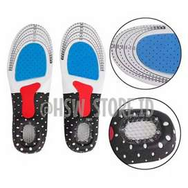 MANTAP  Shoes Pad Silicone Alas Kaki Sepatu Gel Insole Empuk