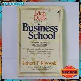 Buku Original Robert Kiyosaki The Business School + Cover