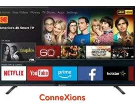 BEST DHMAKA 42 inch smart led tv with 2 yr warranty