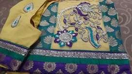 Smart look saree only cash payment