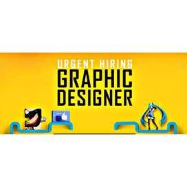 Urgent Hiring Graphic Designer
