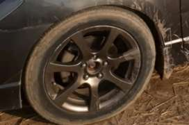 Reborn 17 inch rims and tyres for sale
