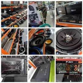 KREDIT AUDIO DP HANYA 10%
