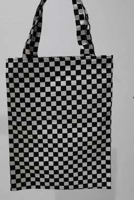 Tote Bag Canvas Tebal