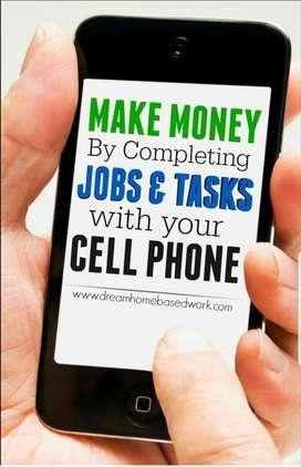 Mobile based job. Flexible time