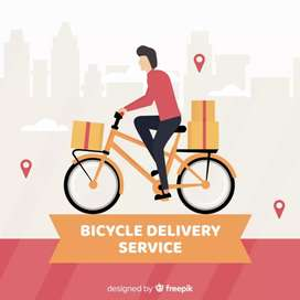Bi-cyclist & biker need for delivery in all West bengal