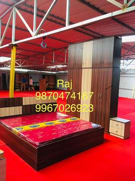 Bed and wardrobe now at 12500 onwards