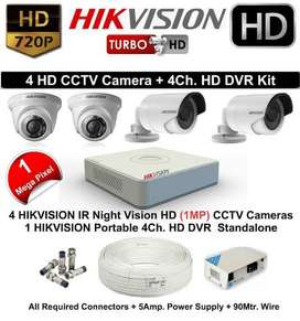 Hikvision 2 Mp CCTV Setup and other Brands available at Wholesale Pric