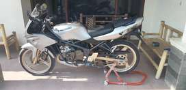 Kawasaki ninja krr buid up kondisi mulus 2003