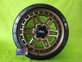 velg HSR Dopeng ring 17 buat pajero, fortuner, Strada - Free Spooring