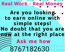 .Earn weekly income by (Generate income with typing)