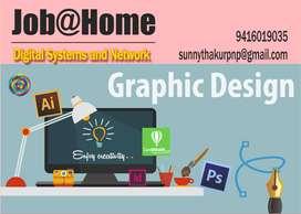 Junior Graphic Designer / Part Time / Full Time / @Home