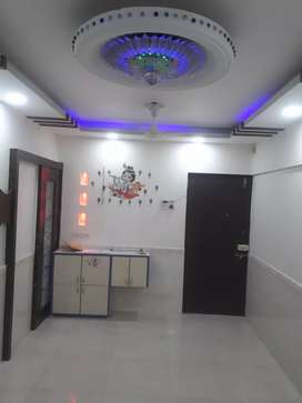fully furnished  2 bhk with double tereace for sale in airoli