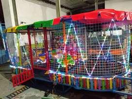 wahana praktis odong 2 mandi bola komplit playground menarik ADD