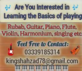 Learn to play musical instruments