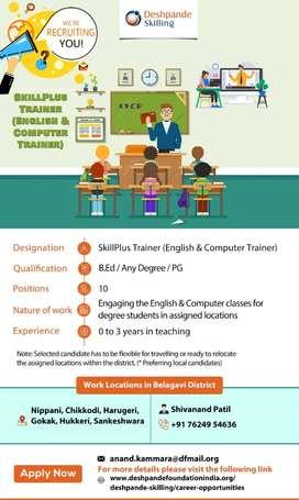 SkillPlus Trainer (English and Computer)