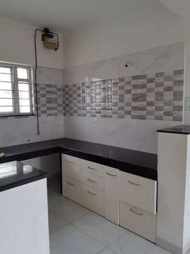 2 Bhk @ River Recedency society with Modular kitchen &Gas connections