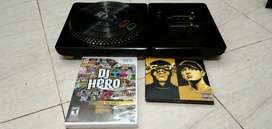 Dj Hero renegade + kaset For PS3 Game