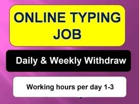 This is the easiest way to earn  by TYPING JOB